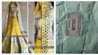New jomso lehenga review and unboxing|jomso review|jomso lehenga|mirorlehenga|online shopping review