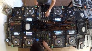 Cotts & Ravine 12 DECK MIX Back 2 Back (Electro Hard Dance Hardstyle Drumstep Hardcore)