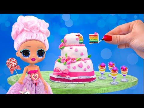 Миниатюрные сладости – 7 идей / Лайфхаки для мини кухни
