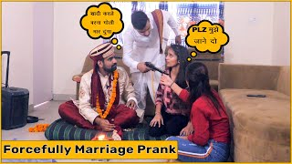 Forcefully Doing Marriage Prank on Simran's Friend  Ft. Chik Chik Boom | The HunGama Films