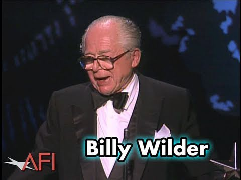 Billy Wilder Accepts the AFI Life Achievement Award in 1986