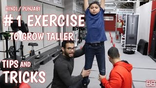TIPS and TRICKS to GROW TALLER! (Hindi /Punjabi)