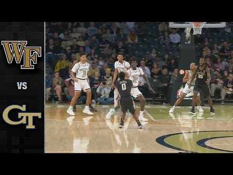 Wake Forest vs Georgia Tech Basketball Highlights (2018-19)