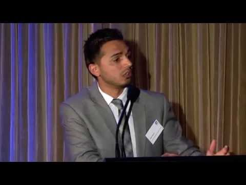 Kashif Bouns - Box Hill Institute Award and Speech