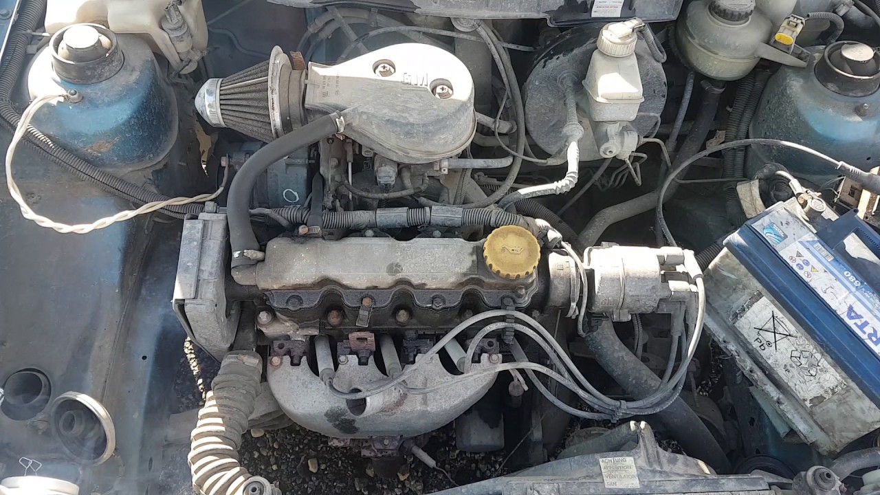 Engine - Car Recycler Parts Opel Astra F 1991 1 4 44kw Gasoline Mechanical Hatchback