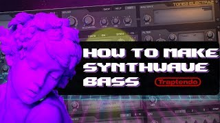 How To Make Custom Synthwave Bass Sounds in ElectraX