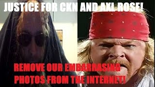 AXL ROSE Wants 'Fat Axl' Meme Photo Deleted From The Internet