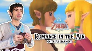 ROMANCE THEME | SKYWARD SWORD | OCARINA COVER on TRIPLE HARMONY
