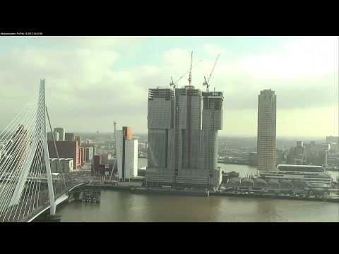 De Rotterdam - 4 jaar bouwen in 2 minuten