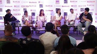 Twinkle Khanna, Gul Panag, Miss Malini & Others At The Outlook Social Media Jury Meet