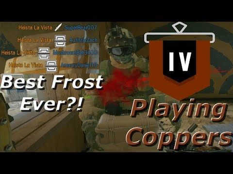 Pro League Level Frost Traps! Road To Copper - Rainbow Six Siege Funny Moments