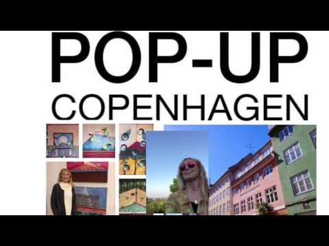 Contemporary artist Anne Gry Andersen at POP-UP Copenhagen