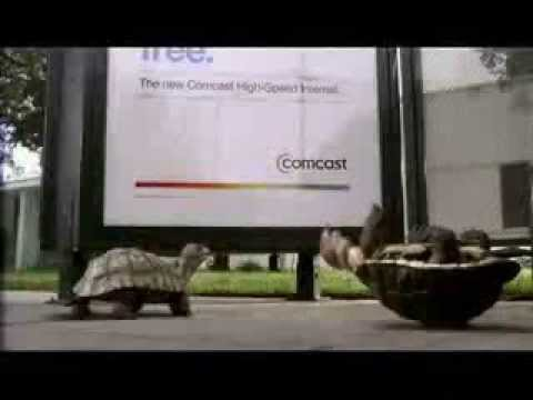 Comcast The Slowskys Turtle Commercial Bus Stop Youtube