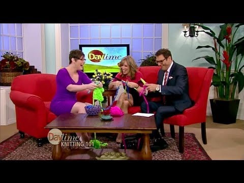 Daytime (National Show) TV Appearance – Become a Knitting Superstar