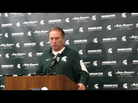 Tom Izzo recaps loss to Penn State, previews Minnesota, talks Big Ten