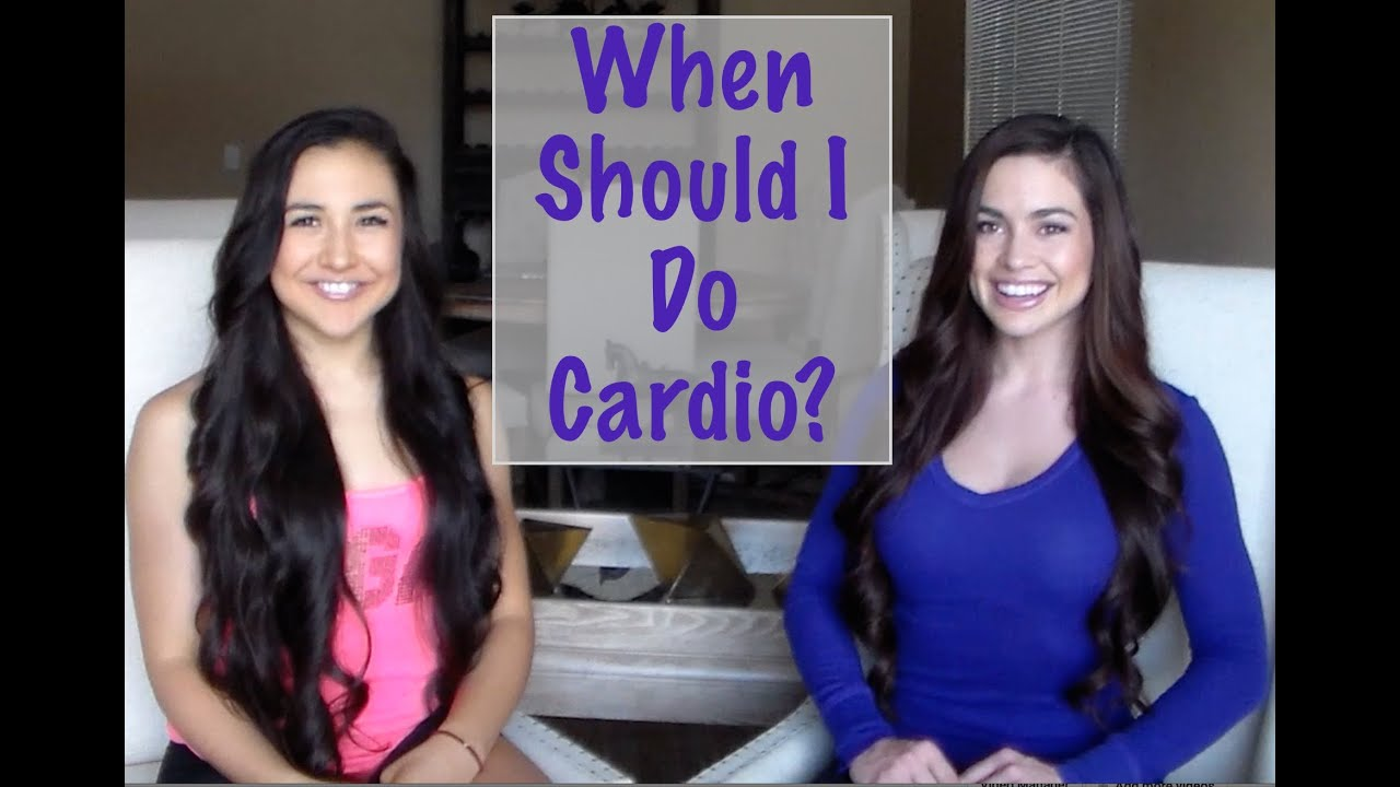 cardio before or after weight lifting youtube