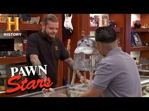 Pawn Stars: Antique Cast Iron Ice Shaver   History
