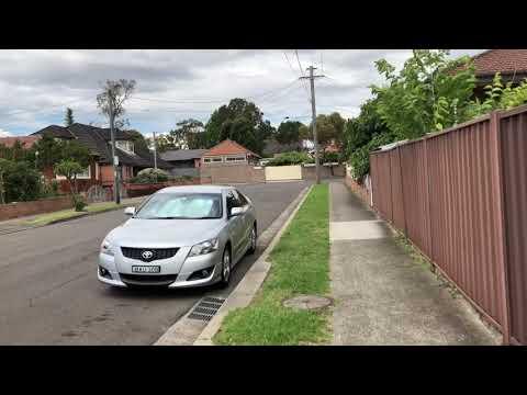 Sydney  AUSTRALIA  (  Residential Area  )   Video No. 1