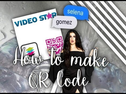 HOW TO MAKE A QR CODE ON / VIDEOSTAR - juliaa's edits