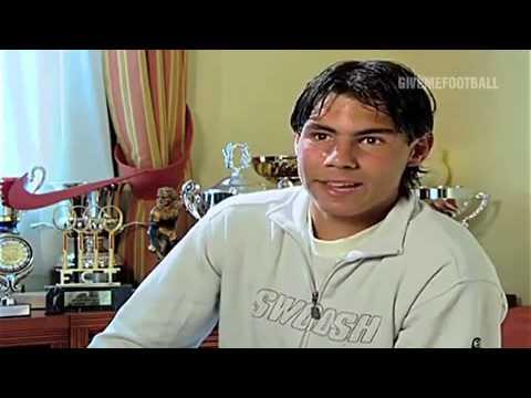 Young Rafael Nadal And Carlos Moya Youtube