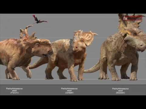 Walking with Dinosaurs The Movie: FX Guide Special