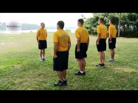 U.S. Navy Sailor Physical Training