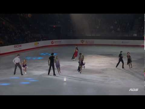 2018 Canadian Tire National Skating Championships gala finale clip (RDS)