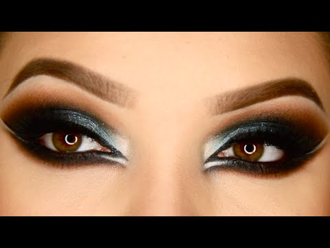 Sexy Arabic Makeup Tutorial - YouTube