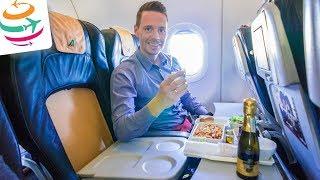 Mit der Alitalia Business Class in der A320 nach Rom | GlobalTraveler.TV