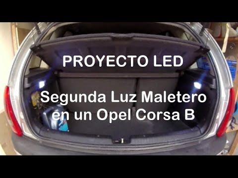 C mo poner una segunda luz de maletero de un opel corsa b proyecto led youtube - Poner luz interior coche ...