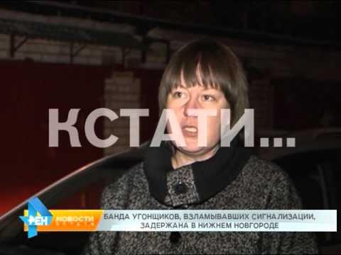 Банда угонщиков, взламовавших сигнализации задержана в Нижнем Новгороде