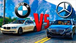 GTA Online Моды: Mercedes S500 и BMW 750Li - Настоящие машины!(GTA Online Моды: Mercedes S500 и BMW 750Li - Настоящие машины! А Сегодня у нас на обзоре и на сравнении в GTA Online две крутые..., 2016-02-09T12:27:53.000Z)