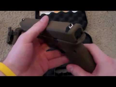 Glock 17 Gen 4 Flat Dark Earth Cerakote Unboxing