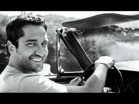 Gerard Butler in Black & White....If You Needed Somebody.....by Angelina