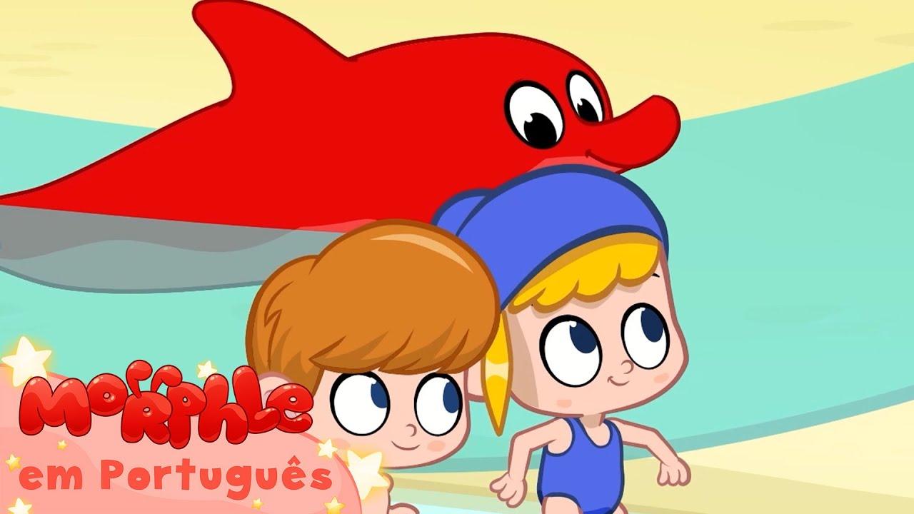 Morphle em Português   Morphle e Mila na praia!   Desenhos em Portugues   Desenhos para Crianças