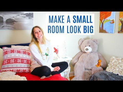 9 Tips + Hacks to Make your Room Look Bigger | KATMAS 11