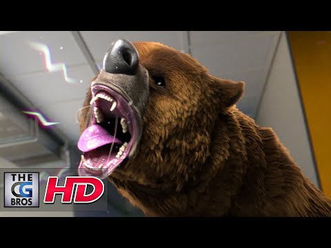 "CGI 3D Animated Short: ""Comme un Ours (Like a Bear)"" ,como un oso- by ESMA 