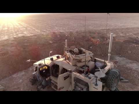 U.S. Marines fire M777-A2 Howitzers in Syria