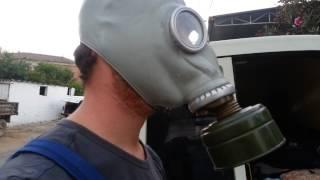 Gaz maskesi aydın haşere ilaçlama maskesi fumigasyon maskesi sipariş: 0544 5160278 Video
