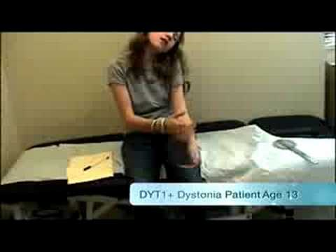 Dystonia and Parkinson's PSA