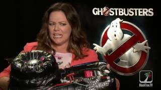 Melissa McCarthy shares  what scares her Ghostbusters
