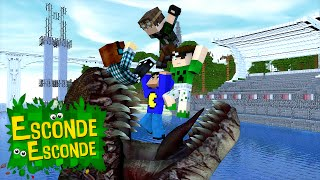 Minecraft: JURASSIC WORLD - O FILME! (Esconde-Esconde)