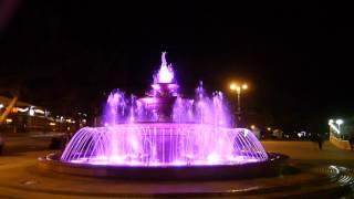 Поющий музыкальный фонтан в Геленджике