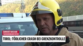 Ein Toter bei Horror-Crash in Tirol