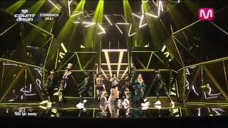 2ne1come back home come back home by 2ne1 of m countdown 20140313