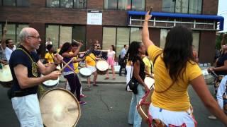 Pedestrian Sunday in Kensington Market (Toronto) Drumming, Singing, Dancing