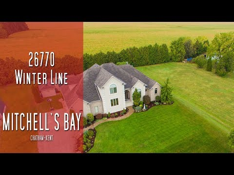 CHATHAM-KENT - 26770 Winter Line - Mitchell's Bay [propertyphotovideo]