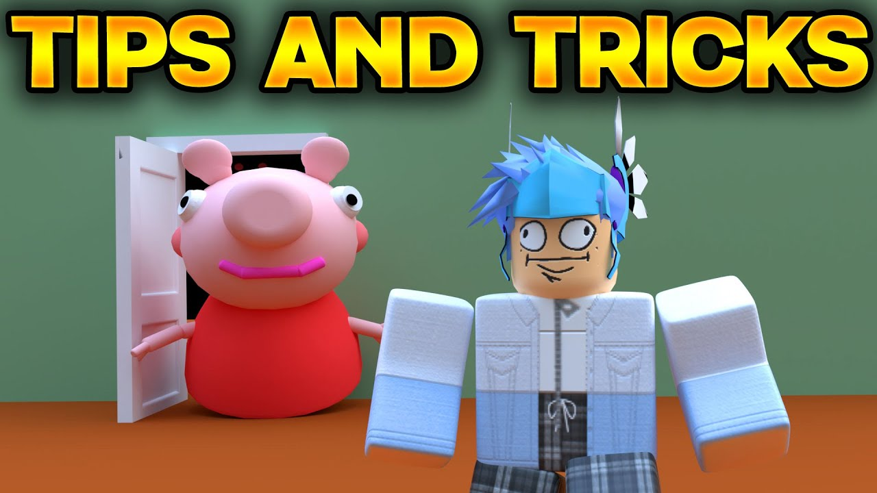 Tips And Tricks In Roblox Piggy Roblox Piggy Youtube