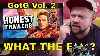 Honest Trailers Guardians of the Galaxy 2 REACTION!!!