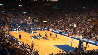 KU basketball - CJ Henry 3-pointer, Elijah Johnson dunk 12 29 09